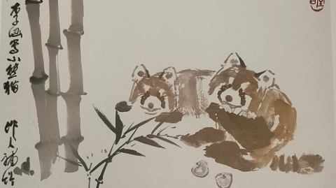 为纪念写意花鸟画大师李苦禅,150幅作品组成这场师生展