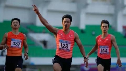 职业生涯第6次跑进10秒 苏炳添期待在东京圆梦