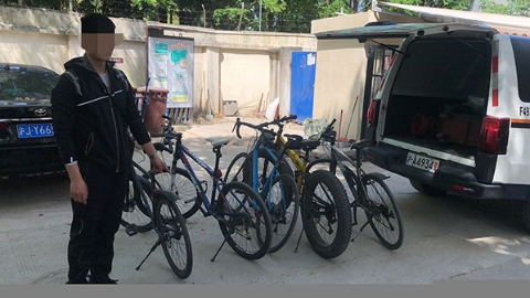 自行车被偷后,他开始频频盗窃他人自行车……