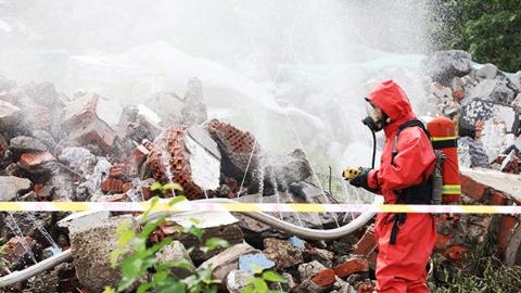 普陀区开展自然灾害应急救援综合演练活动