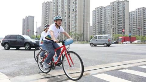 青春百年路(中点)一骑溯前湾  闵行区华漕镇举办红色青春骑行定向赛