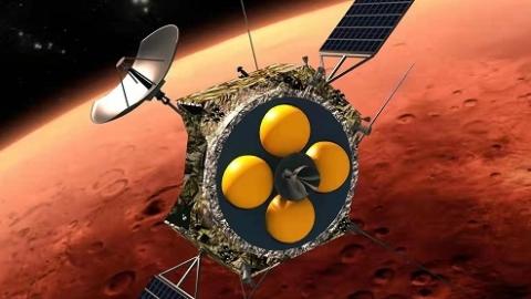 着陆火星成功 人保全力保障