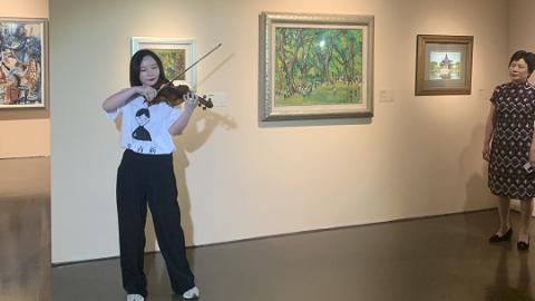 当《闻香识女人》的旋律在中华艺术宫响起……