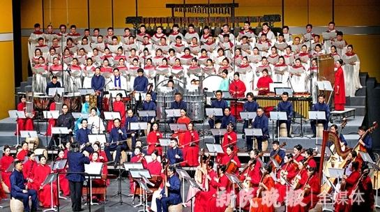 各民族乐器同台争辉 上海民族乐团新作《国乐咏中华》昨首演