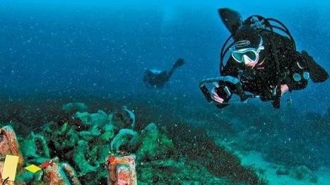 希腊首个水下考古遗址即将开放