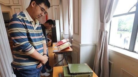 """""""上海解放了""""的喜讯从这里传出  真如国际电台旧址上午揭牌"""