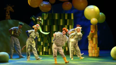 六一为孩子打造一场梦幻游园会,《大森林里的小故事》中文版上演