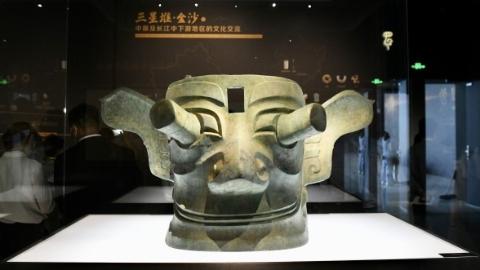 三星堆、金沙遗址文物来到上海奉贤,揭开古蜀文明神秘面纱
