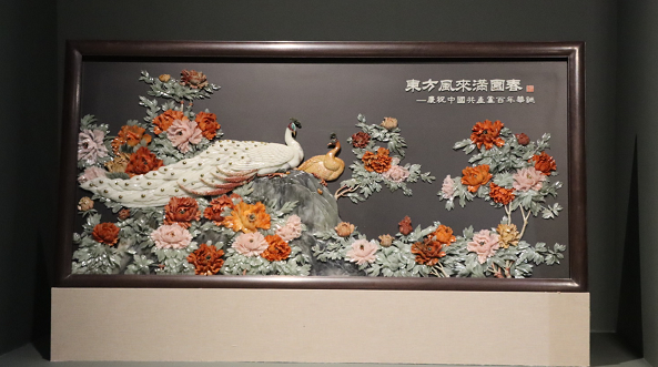 """文旅寻宝""""非遗日""""闵行分会场,近140件作品展现非遗华彩之美"""