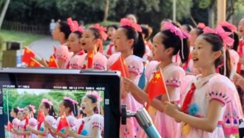"""""""永远和党在一起"""" 中福会少年宫发布喜迎建党百年献礼歌曲"""