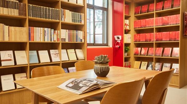 宝钢开出了红色主题书屋