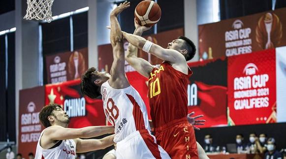 亚预赛开门红!中国男篮全面开花击败日本队
