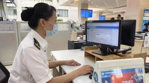 """浦东海关驻企业服务中心窗口""""1+2+3 """",报关备案全程无纸"""