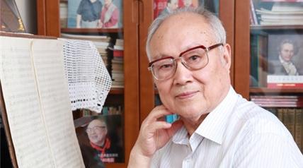 """91岁作曲家吕其明获""""七一勋章"""":我有三个词,想要跟党说"""