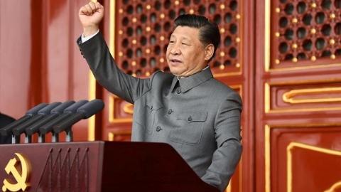 震撼世界的100年!多家外媒报道中国共产党成立100周年大会
