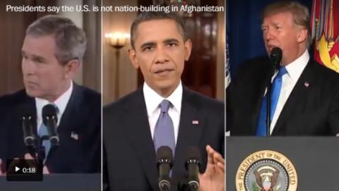 从海地到阿富汗,美式民主输出的真相