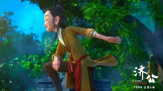 靳东:上映时要带家人一起看《济公之降龙降世》