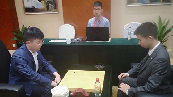 第17届倡棋杯半决赛在嘉善落子 杨鼎新、丁浩先声夺人