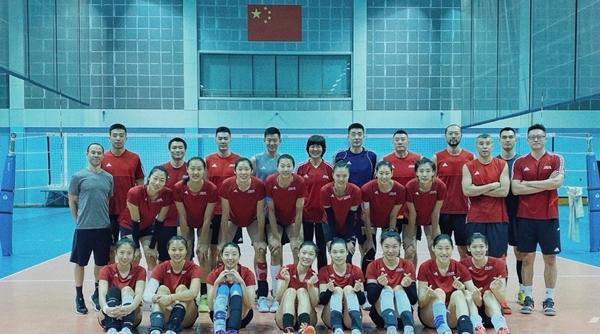 瀛奥运·前奏|中国女排,带着女排精神,准备好了!