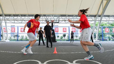 奥运前瞻:压力大动力也大,中国三人女篮希望创造奇迹