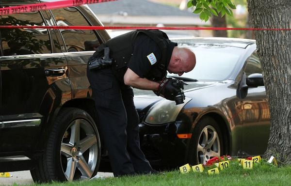 芝加哥发生枪击 造成六人受伤