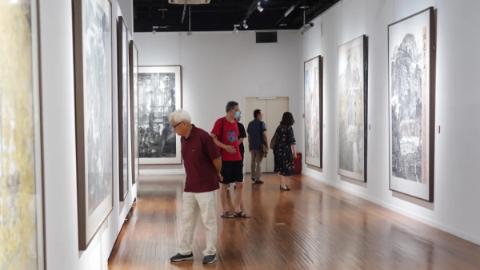 新吴门美术作品走四方特展在普陀开幕啦!