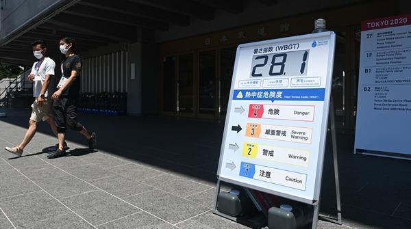瀛奥运·前奏|东京天气又湿又热怎么办?热室训练降温背心,统统安排上