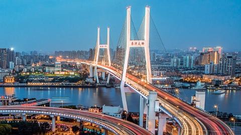黄浦江上的桥