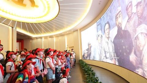 """上海""""10后""""用童言童语讲述百年红色故事"""