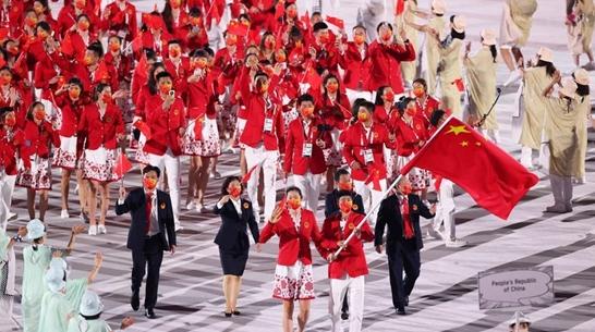 东京奥运会开幕 从1964到2021,小种子长成了五环的模样……