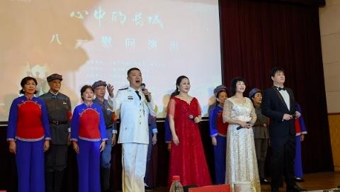 """上海""""拥军优属、固我长城""""八一慰问演出开启"""