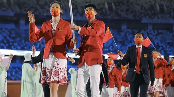 忧伤而悲壮,令我动容的2021东京奥运开幕式
