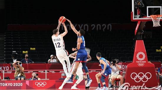 17年来首次在奥运会上输球  美国男篮负于法国队