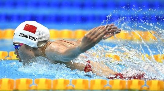劈波斩浪!张雨霏夺东京奥运会女子100米蝶泳银牌