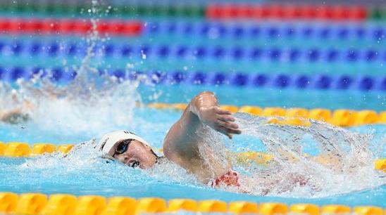 李冰洁获东京奥运会女子400米自由泳铜牌