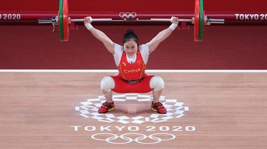 廖秋云获东京奥运举重女子55公斤级亚军