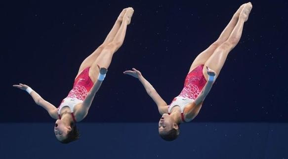 上海选手奥运第二金!陈芋汐跳水女子双人10米台夺冠