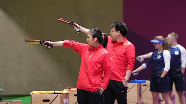 瀛奥运·观察|中国射击有备而来!00后姜冉馨这样一步步成为奥运冠军