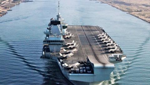 环球论坛|在亚洲水域常驻军舰,英国意欲何为?