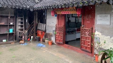 暴雨后泡在水里一周了!谁来管管浦东这处优秀历史建筑?
