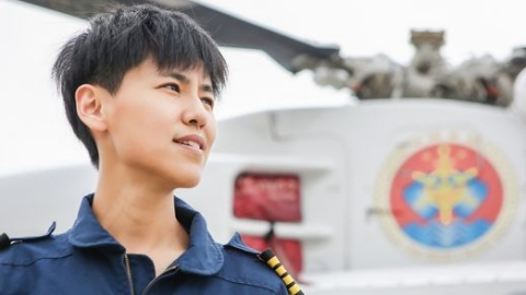 """她是""""最帅女飞行员"""",和团队已成功营救218名海上遇险人员"""