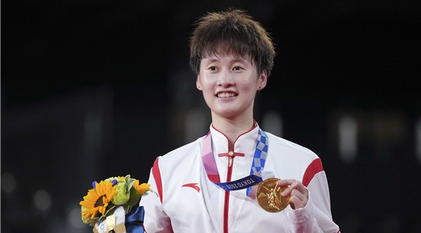 瀛奥运·人物丨陈雨菲:这一次,没掉链子!