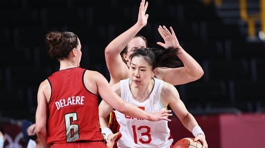中国女篮小组赛三战全胜 成奥运淘汰赛头号种子
