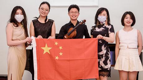 """乐动体育优秀青年音乐家代表团赴黑山传递""""中国之声"""""""