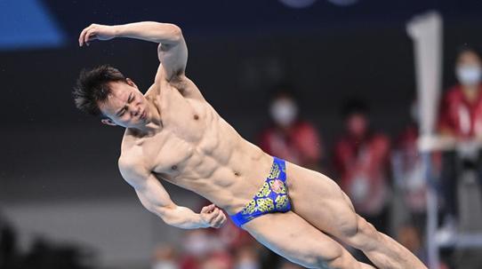第30金!谢思埸获东京奥运会跳水男子单人三米板冠军