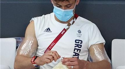 瀛奥运·人物丨四天织出一件毛衣!来看看跳水冠军戴利的这件新作品