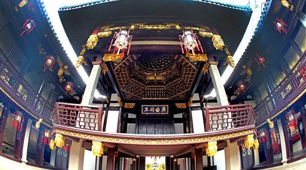 与革命文物面对面·红色文物系列 | 听,古戏台上传来当年上海工人的歌声