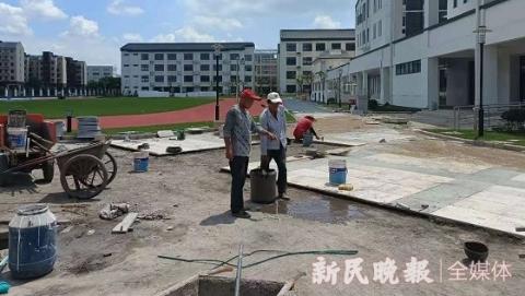 """新学年即将来临,又一批新建中小幼交付使用 新校园新课程""""扮靓""""上海基础教育"""