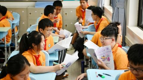 为什么在上海这所知名初中,孩子们不会抱怨作业多?