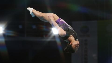 奥运冠军无缘全运决赛 朱雪莹蹦床预赛失误遗憾出局